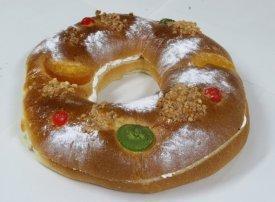 El roscón de Reyes, último exceso de la Navidad