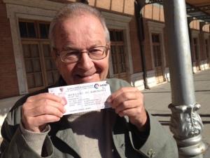 Bernard también visitó Sevilla.